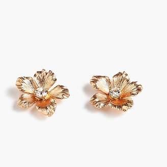 J.Crew Pansy earrings