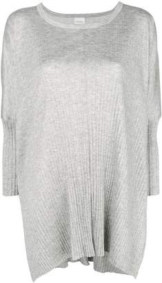 Max Mara longline ribbed knit sweater