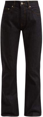 Brock Collection Wright high-waist straight-leg jeans