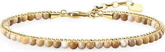 Thomas Sabo Chakra 18ct yellow gold and jasper bracelet