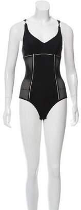 Stella McCartney Mesh One-Piece Swimsuit w/ Tags