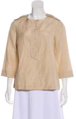 Marc by Marc Jacobs Silk-Blend Woven Top