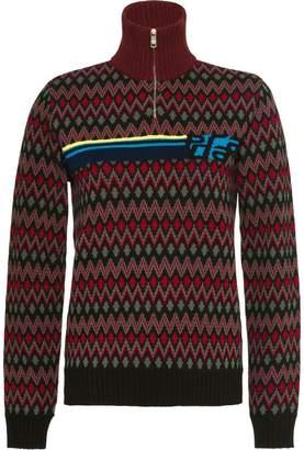 Prada cashmere geometric sweater