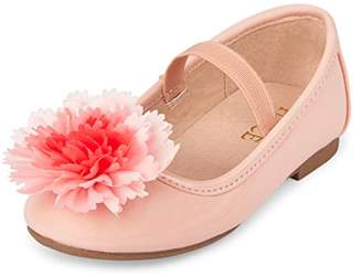 Children's Place The Girls' TG Poof Kayla Ballet Flat