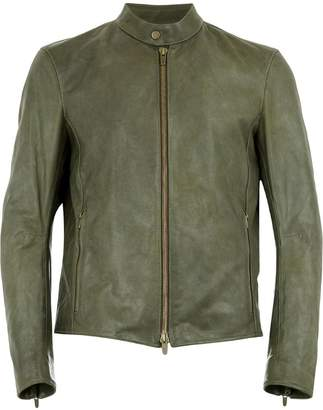 Ajmone leather biker jacket
