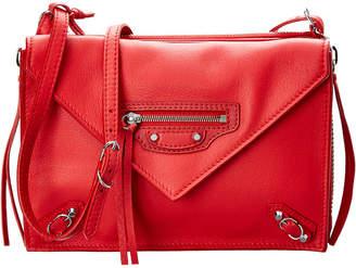 Balenciaga Papier Triple Xs Envelope Leather Crossbody