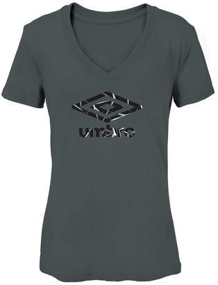 Umbro Women's Crackle Logo Graphic Tee