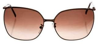 Givenchy Round Tinted Sunglasses