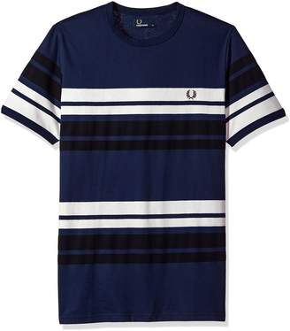 Fred Perry Men's Multi Stripe T-Shirt