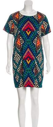 Mara Hoffman Geometrics Mini Dress