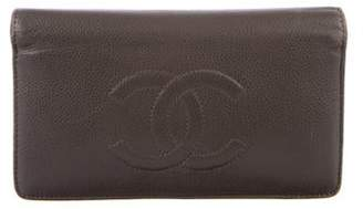 Chanel Timeless Yen Wallet