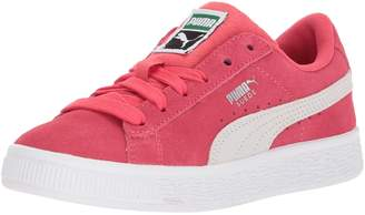 Puma Unisex-Kids Suede Classic Sneaker, Paradise Pink White