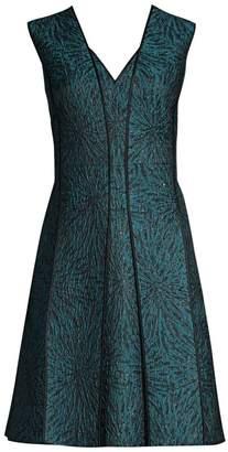 4ac219f55ed9 Elie Tahari Tameeka Jacquard Cocktail Dress