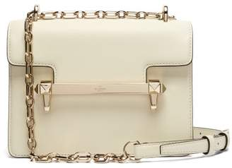 Valentino Uptown Small Leather Cross Body Bag - Womens - Ivory