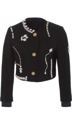 Vintage Atelier Versace Ribbed Wool Jacket