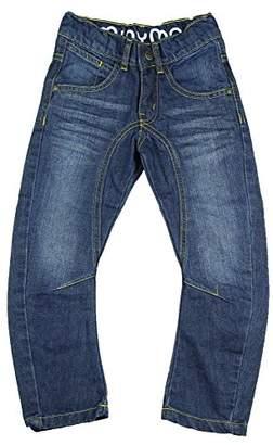 Grosse Minymo Kinder Unisex Jeans, Gerader Schnitt, Leichte Waschung, Alter 6-7 Jahre, Größe: 122, Farbe: Blau, 3729