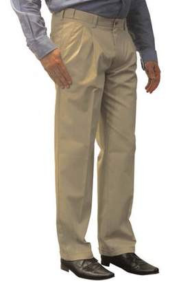 George Big Men's Premium Pleat Front Khaki Pant