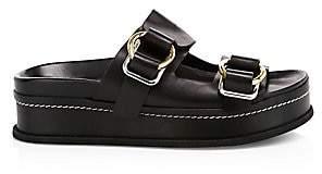 3.1 Phillip Lim Women's Freida Buckled Platform Slides Sandals