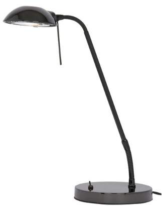 Metis Desk Lamp, Black Chrome Finish