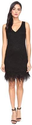 rsvp Parsons Metallic Lace Dress Women's Dress