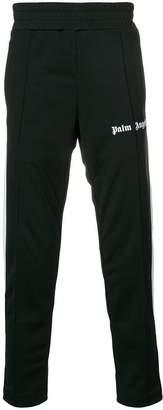 Palm Angels logo print track pants