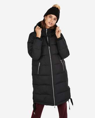 Express Long Puffer Coat