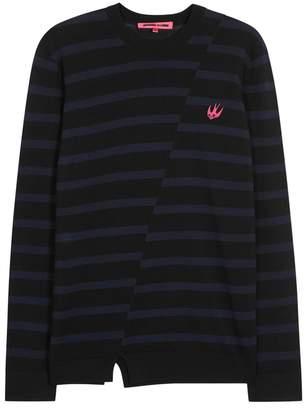 McQ X Tom Tosseyn Striped Wool Jumper