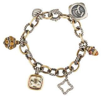 David Yurman 25th Anniversary Charm Bracelet