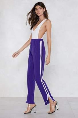 Nasty Gal Stripe Next to You Track Pants