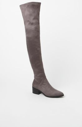Steve Madden Gabriana Faux Suede Over-The-Knee Boots $129.95 thestylecure.com
