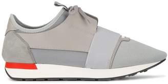 Balenciaga Grey Race Runner Sneakers