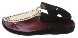 Isabel Marant Edris Grommet-Accented Sandals