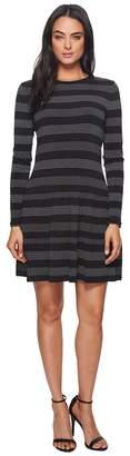 MICHAEL Michael Kors Striped Dot T-Shirt Dress Women's Dress