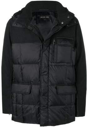 MICHAEL Michael Kors hooded padded coat