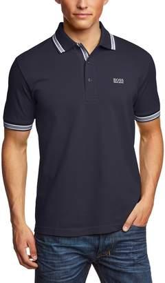 HUGO BOSS Green Paddy Polo Shirt L