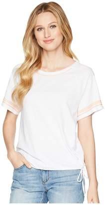 Lilla P Raglan Sleeve Tie Hem Women's Clothing