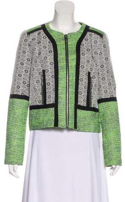 Rebecca Minkoff Structured Zip-Up Blazer
