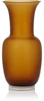 Venini Satinato Glass Vase
