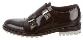 Balenciaga Double Monk Strap Loafers