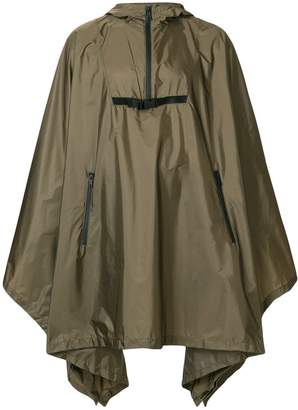 Prada oversized waterproof cape