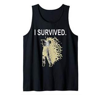 I Survived Funny Bad Round of Golf Tank Top