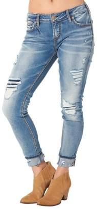 Silver Jeans Co. Girlfriend Crop Skinny