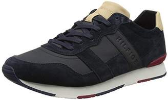 Tommy Hilfiger Men's City Casual Material Mix Runner Low-Top Sneakers