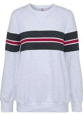 NO KA 'OI Nula Pleated Cotton-Blend Jersey Sweatshirt