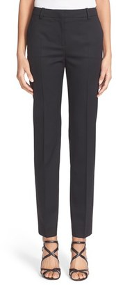 Women's The Kooples 'Timeless' Stretch Wool Trousers $275 thestylecure.com