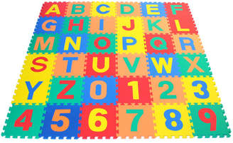 eWonderWorld Alphabet Letter and Counting Numbers Soft Foam Learning Waterproof Playmat