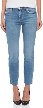 Free People Light Wash Clean Girlfriend Jeans