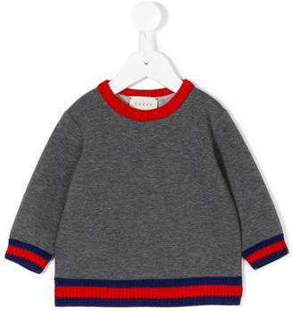 Gucci Kids pullover with Web
