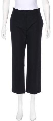 Christian Dior High-Rise Straight-Leg Pants w/ Tags