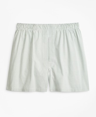 Brooks Brothers Traditional Fit Windowpane Boxers